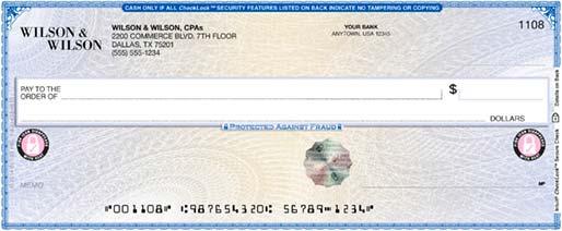 Checks Business Cards More