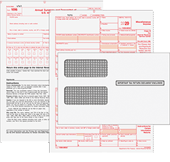 1099 Forms Envelopes Printable Quickbooks 1099 Irs Forms