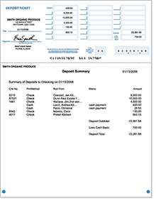 photo relating to Free Printable Deposit Slips Template for Quickbooks named Lender Deposit Slips: Buy Business office Deposit Slips for QuickBooks